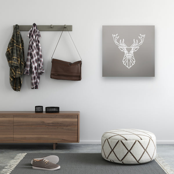 Stag Illuminated Mirror