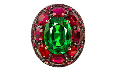 IVY RING, SOLD AT SOTHEBY'S AUCTION ON OCTOBER 7TH