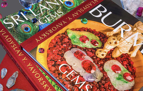 Book Review: Burma Gems and Sri Lanka Gems by Vladyslav Y. Yavorskyy