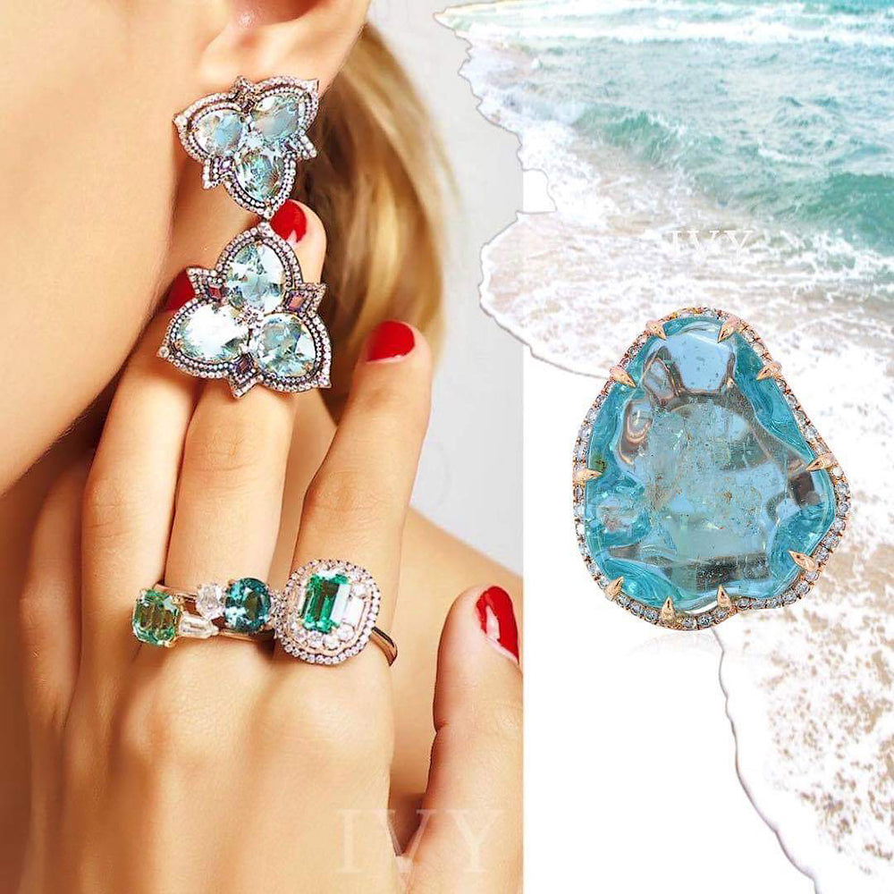 Birthstone to the Sailors: Aquamarine