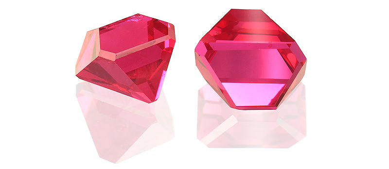 Angel cut spinels 1.81 ct / 2 pcs