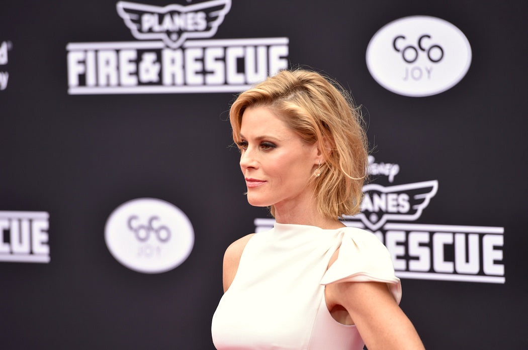 Julie Bowen arrives at the premiere of Disney's Planes: Fire & Rescue sponsored by Coco Joy Kids at El Capitan on Tuesday, July 15, 2014, in Los Angeles. (Photo by John Shearer/Invision for Coco Joy Kids/AP Images)
