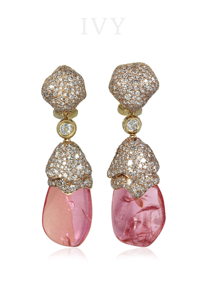 Marco Polo Crystal Earrings
