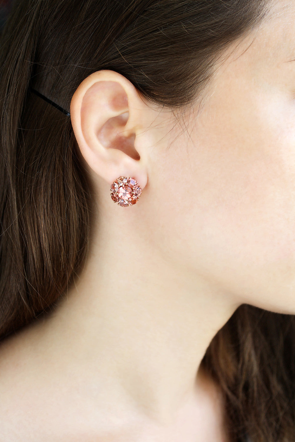 Malaia Garnet Earrings