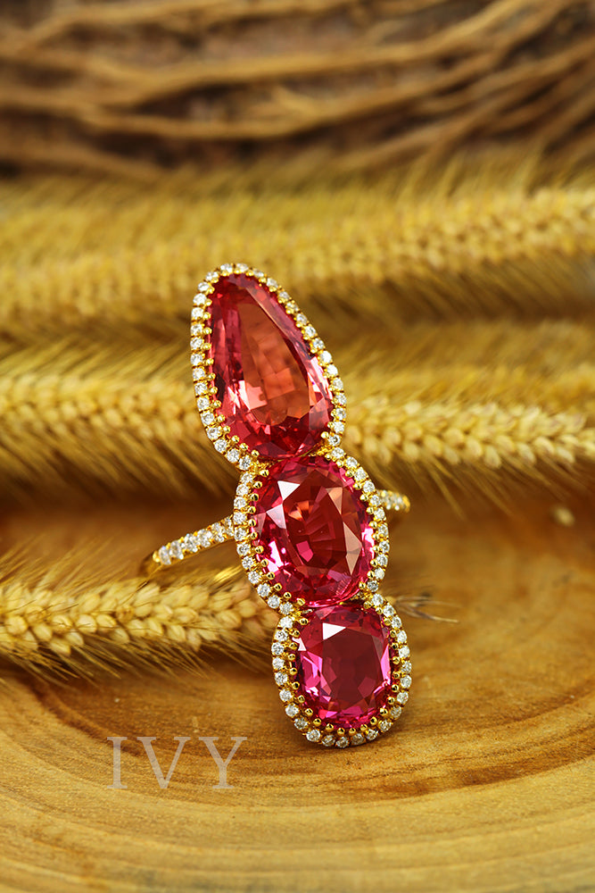 red spinel jewelry
