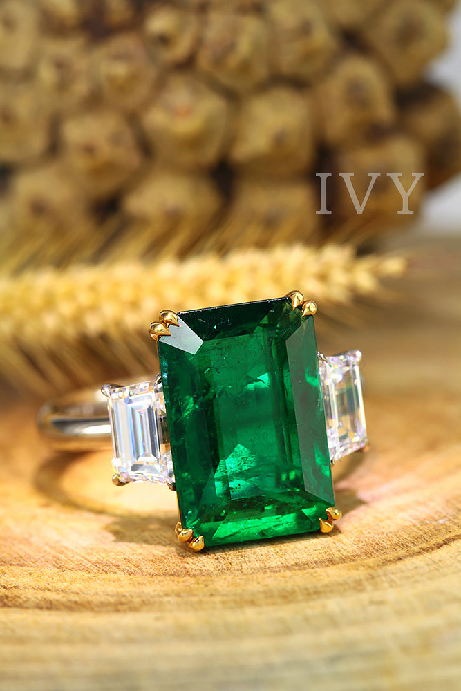 big emerald ring