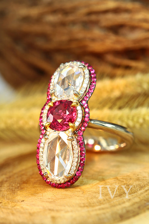 red gem ring