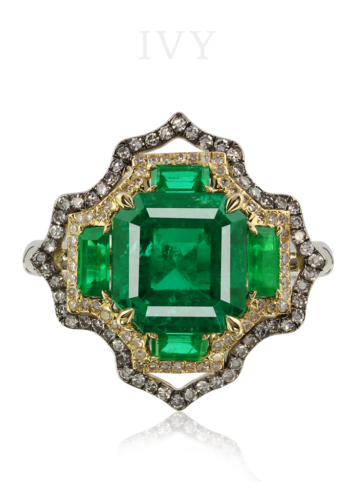 beautiful emerald rings