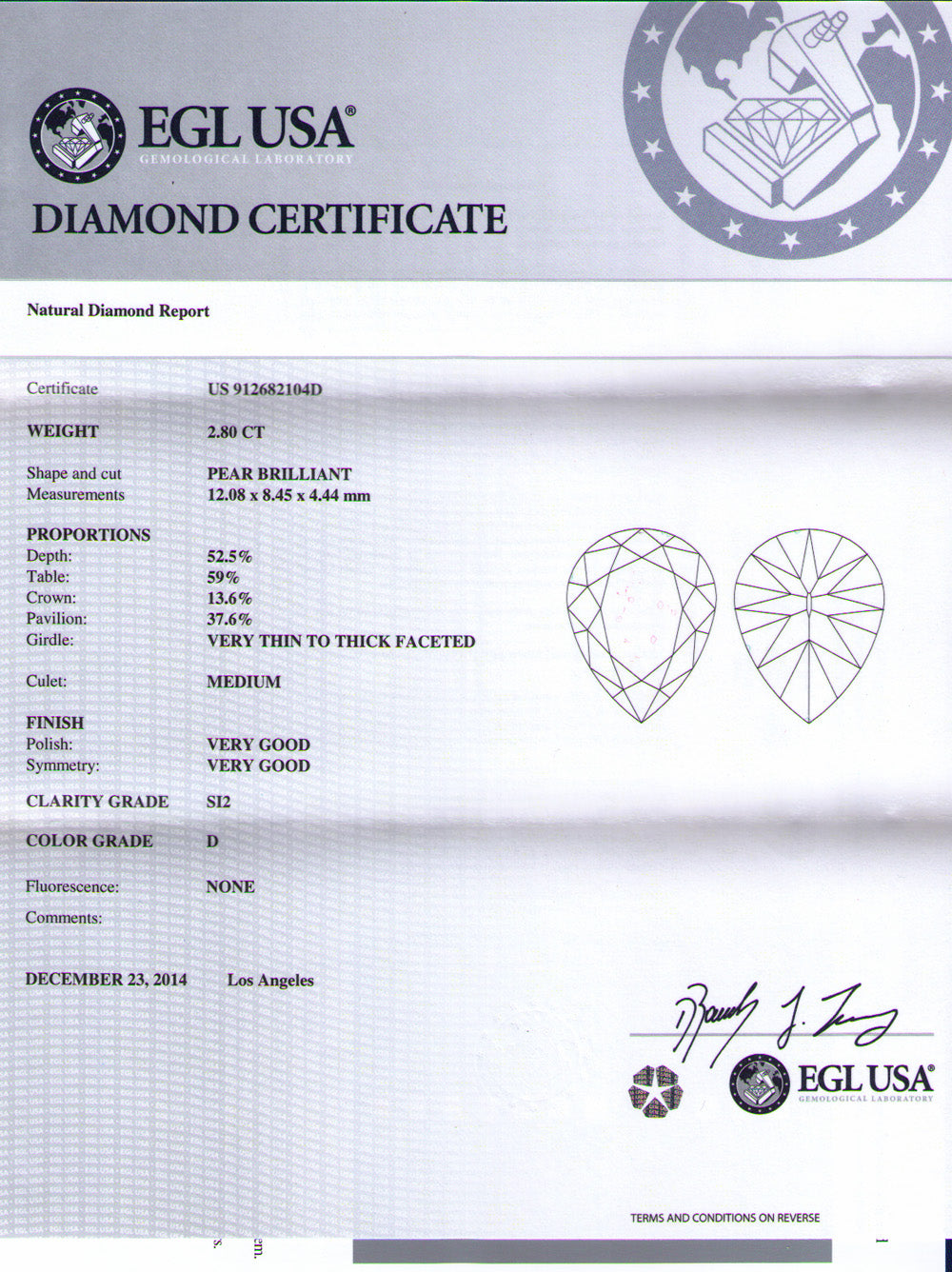 Mr Bond Diamond Signet
