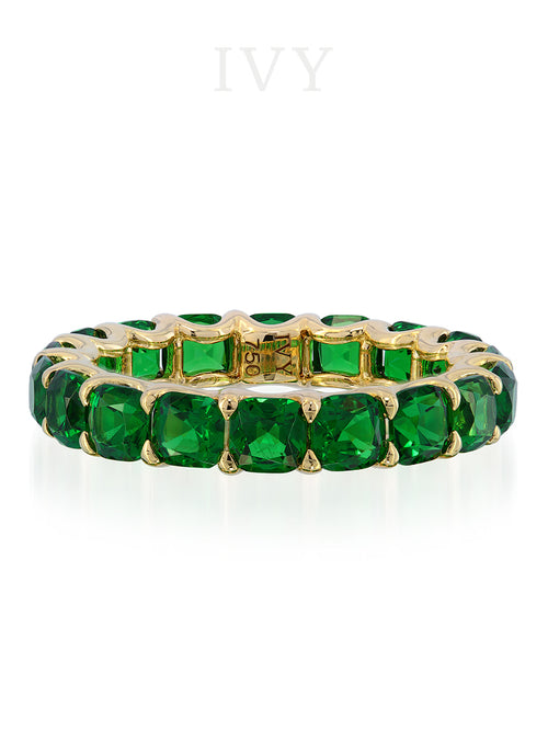 Tsavorite Eternity Ring