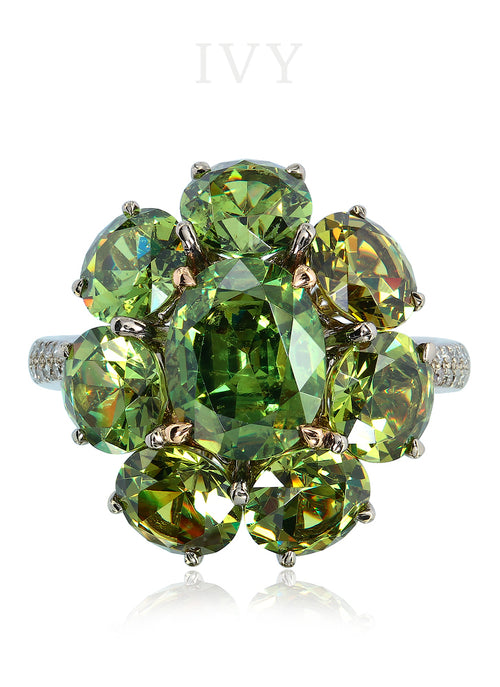 Demantoid Ring