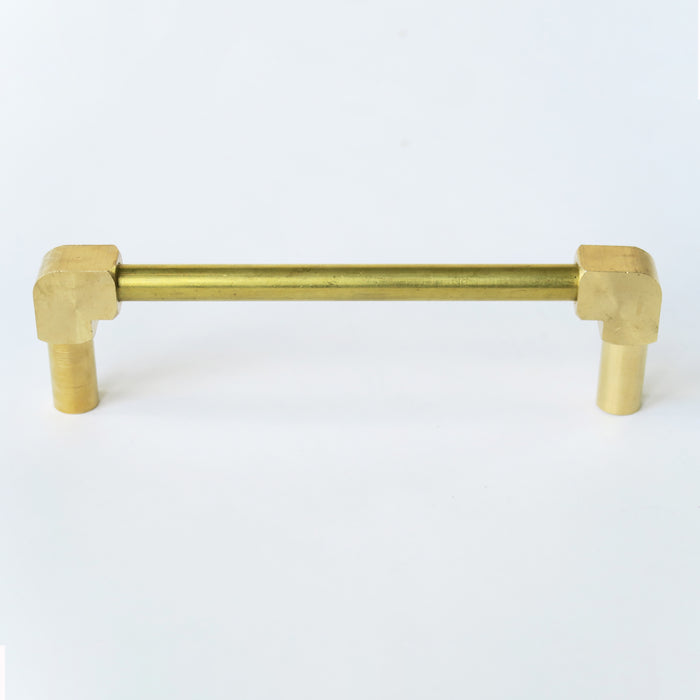 Waterfall Brass Drawer Pull
