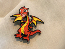 Marvin the Baby Dragon Pin detail view