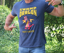 Swamp Dragon navy blue t-shirt
