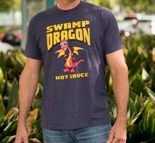 Swamp Dragon purple t-shirt