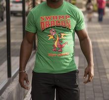 Swamp Dragon green t-shirt