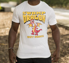 Swamp Dragon white t-shirt
