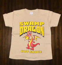 Swamp Dragon youth tee coffee