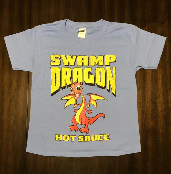 Swamp Dragon youth tee blue