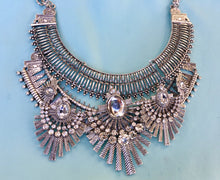 Art Deco Boho  Necklace,  Cleopatra Egyptian Style Jewelry