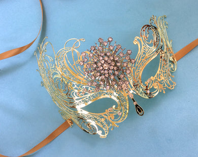 Art Deco Great Gatsby Costume Carnival  Mask