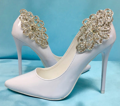 Bridal Wedding Shoe Crystal Rhinestone Shoes