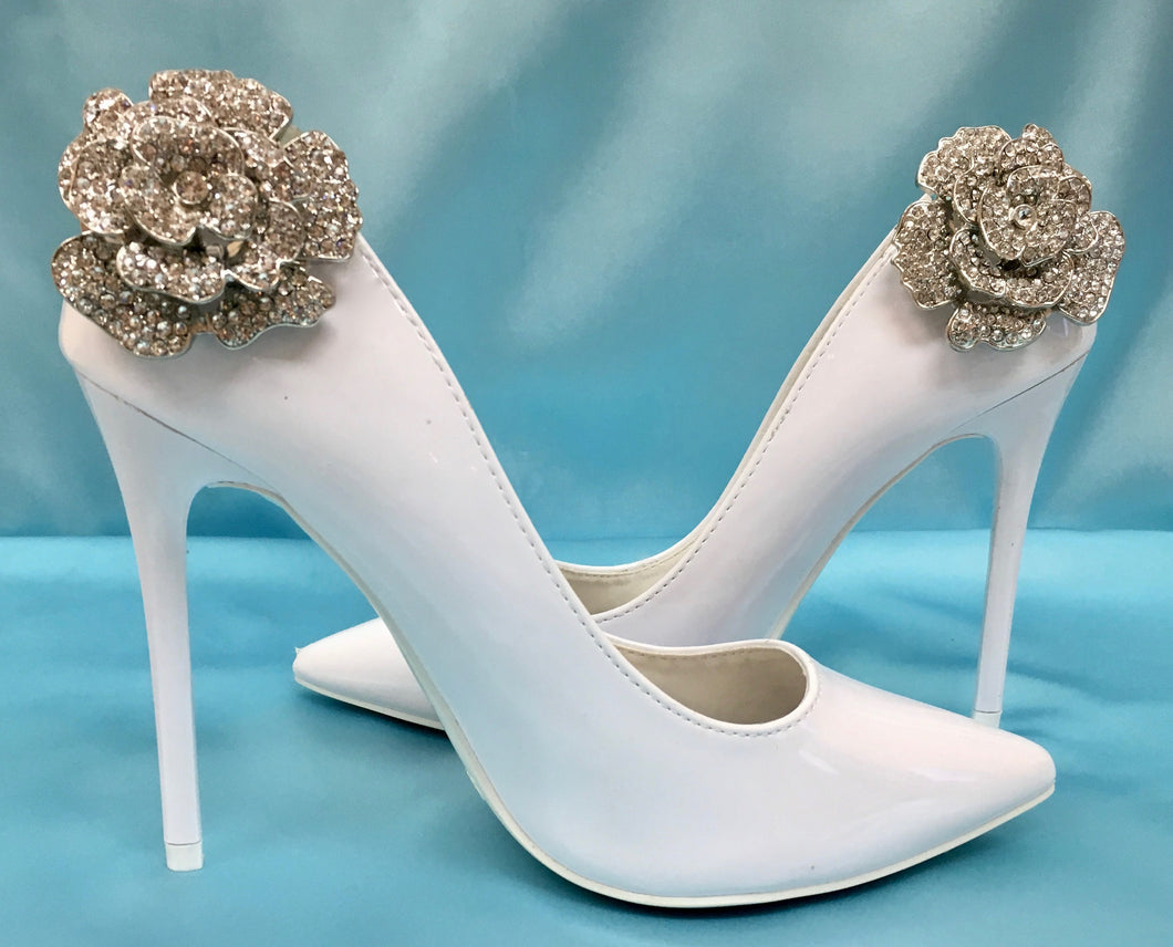 Rhinestone Shoe Clips Accessory For Bride and Bridal Party
