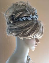 Bridal Tiara Headpiece, Designer Wedding Halo