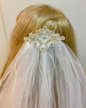 Bridal Wedding Veil, Chapel Length Veil