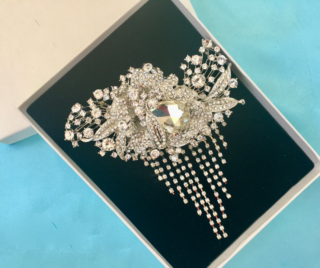 Bridal Wedding Shoe Clips, Shoes For Party or Ball – CMT JEWELRY