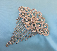 Art Deco Brooch, Great Gatsby Downton Abbey Jewelry