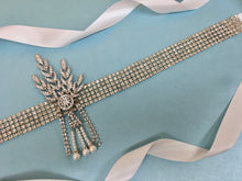 Great Gatsby Art Deco Sash Belt for Brides and Weddings