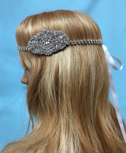 Great Gatsby Boho Headband, Flapper 1920s Jewelry, Art Deco Headpiece