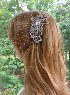 Bridal Wedding Birdcage Veil