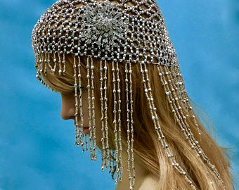 Downton Abbey Boho Wedding Headpiece
