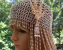 Downton Abbey Flapper Hat, Great Gatsby Era Headpiece, Retro Wedding Accessory