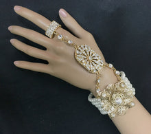 Great Gatsby Pearl Bracelet, Victorian  Downton Abbey Jewelry