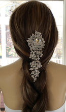 Bridal Wedding  Comb, Rhinestone Crystal Headpiece