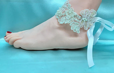 Beach Summer Bridal Wedding Anklets Shoes