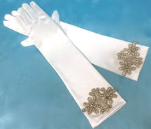 Wedding Bridal Gloves, Art Deco Gloves, Great Gatsby Gloves