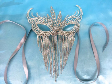 Art Deco Flapper Gatsby Mask