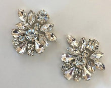 Wedding Rhinestone Crystal Earrings For The Bride
