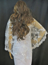 Bridal Gown Shawl, Wedding Lace Jacket, Bridal Bolero, Lace Shawl