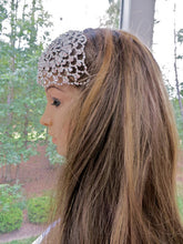 Juliet Cap Headpiece, Victorian Boho Bridal Headpiece