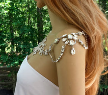 Rhinestone Crystal Bolero Necklace for Wedding