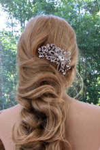 Bridal Wedding Headpiece, Rhinestone  Crystal Headpiece