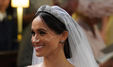 Crystal Rhinestone Wedding Tiara Crown, Meghan Markle Headpiece