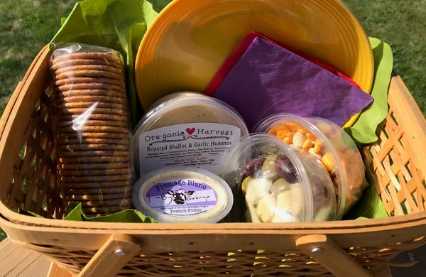 Picnic Basket of Appetizers (serves 2-3)