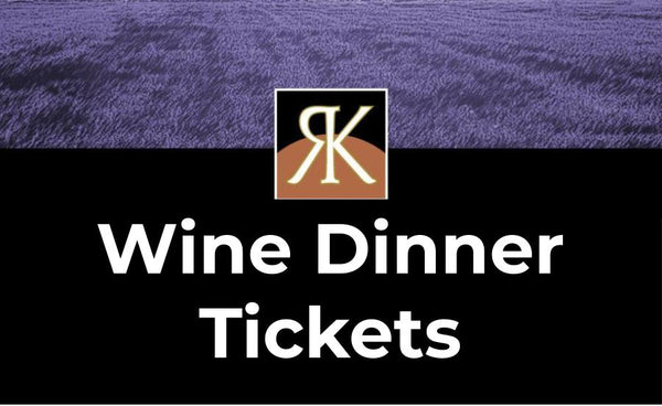 Wine Dinner Ticket - Sept 22th
