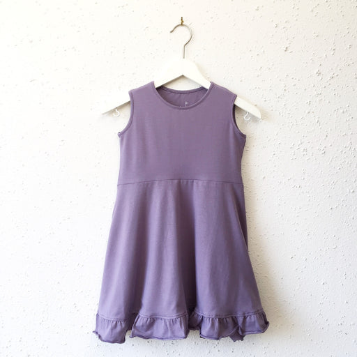 EMILY dress in Purple Sage